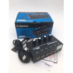 Alctron HA4 Headphone Amplifier - Distributor 4 Channel