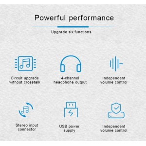 Alctron HA4 PLUS Headphone Amplifier - Distributor 4 Channel