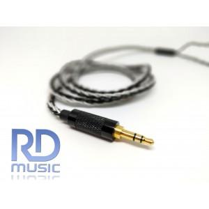 MMCX 8core premium upgrade cable ( untuk wave3HU, Pi 3.14 audio, Shure se215, etc)
