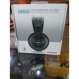 Headphone Recording studio monitor Samson SR850 (velour) with box