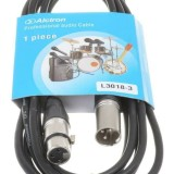 Kabel Microphone XLR to XLR male female alctron
