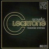 CLEARTONE 80/20 Bronze Custom Light 11-52 Acoustic String