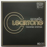 CLEARTONE 80/20 Bronze Extra Light 10-47 Acoustic String