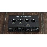 M-Track DUO M-audio soundcard usb audio interface maudio mtrack 2 channel