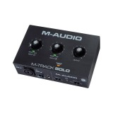 M-Track solo M-audio soundcard usb audio interface maudio 2 channel