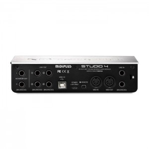 Midiplus Studio 4 - Professional USB Audio Interface
