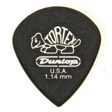 Dunlop Pick Tortex Pitch Black Jazz III 1.14 mm