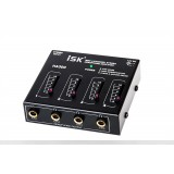 ISK HA300 Headphone Amplifier Distribution 4 Channel