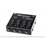 ISK HA300 Headphone Amplifier Distribution 4 Channel