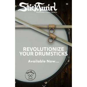 Sticktwirl USA : Drum Stick Grip