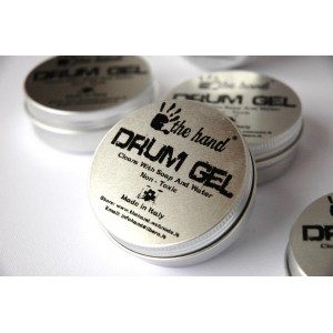 Drum gel The hand damper peredam sustain mute - green