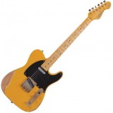 VINTAGE GUITAR USA Tele Butterscotch Blonde Relic V52MRBS